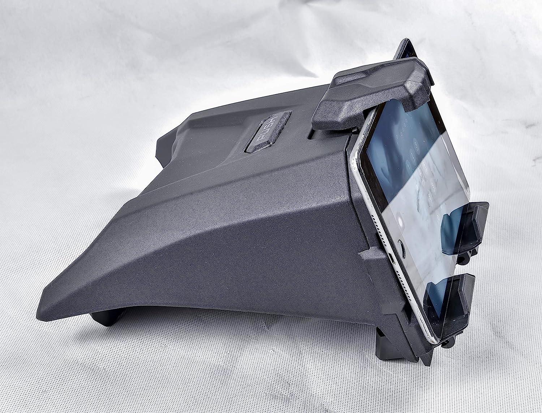 Maverick X3 Electronic Device Mounts with Storage Box Organizer Tray SAUTVS Electronic Device Tablet Phone Holder for Can-Am Maverick X3 2017-2020