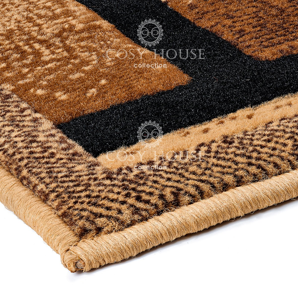 Best Oriental and Traditional Rug for Kitchen Easy Care Durable Resistant Material Imported from Turkey Quality Mats by Cosy House Door Entrance /& Hallways Red,2 X 34