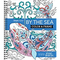 Color & Frame Coloring Book - By the Sea