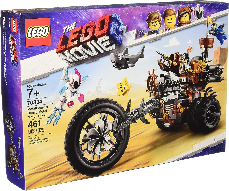 LEGO The Movie 2 MetalBeard\'s Heavy Metal Motor Trike! 70834 Building Kit (461 Piece)