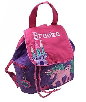 Personalizado Unicornio mochila/mochila. Gran regalo para niños de vuelta a la escuela infantil: Amazon.es: Bebé