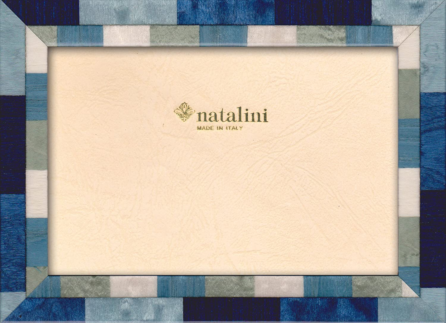 Natalini Marquetry Photo Frame Made in Italy Tulipwood 5X 7 Oak