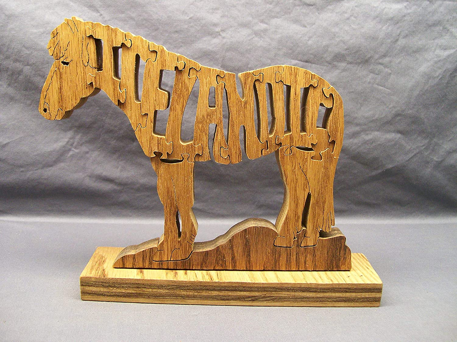 Horse Puzzle Driving Woodimals