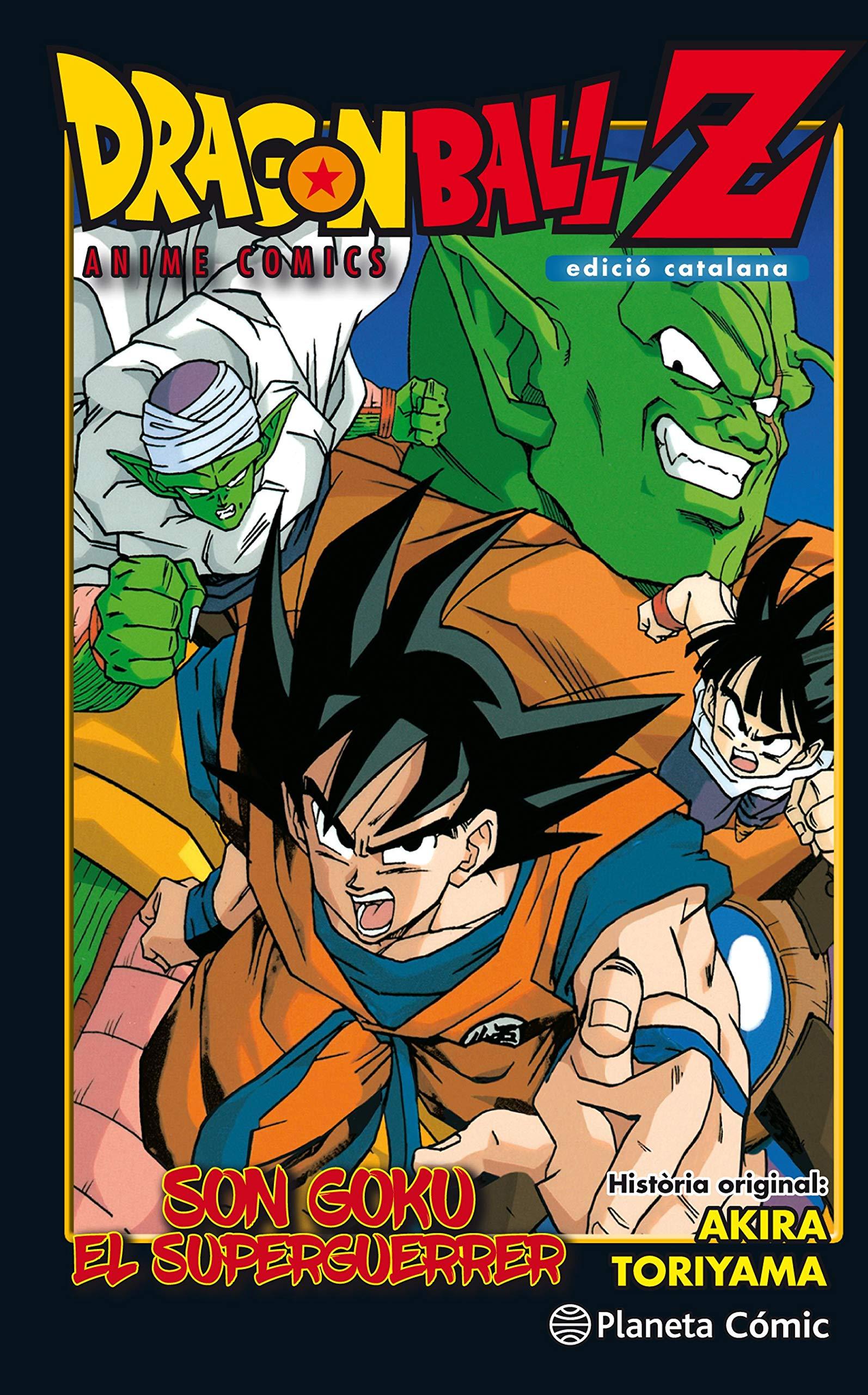 Dragon Ball Z Anime Comic Son Goku El Superguerrer. Edició ...