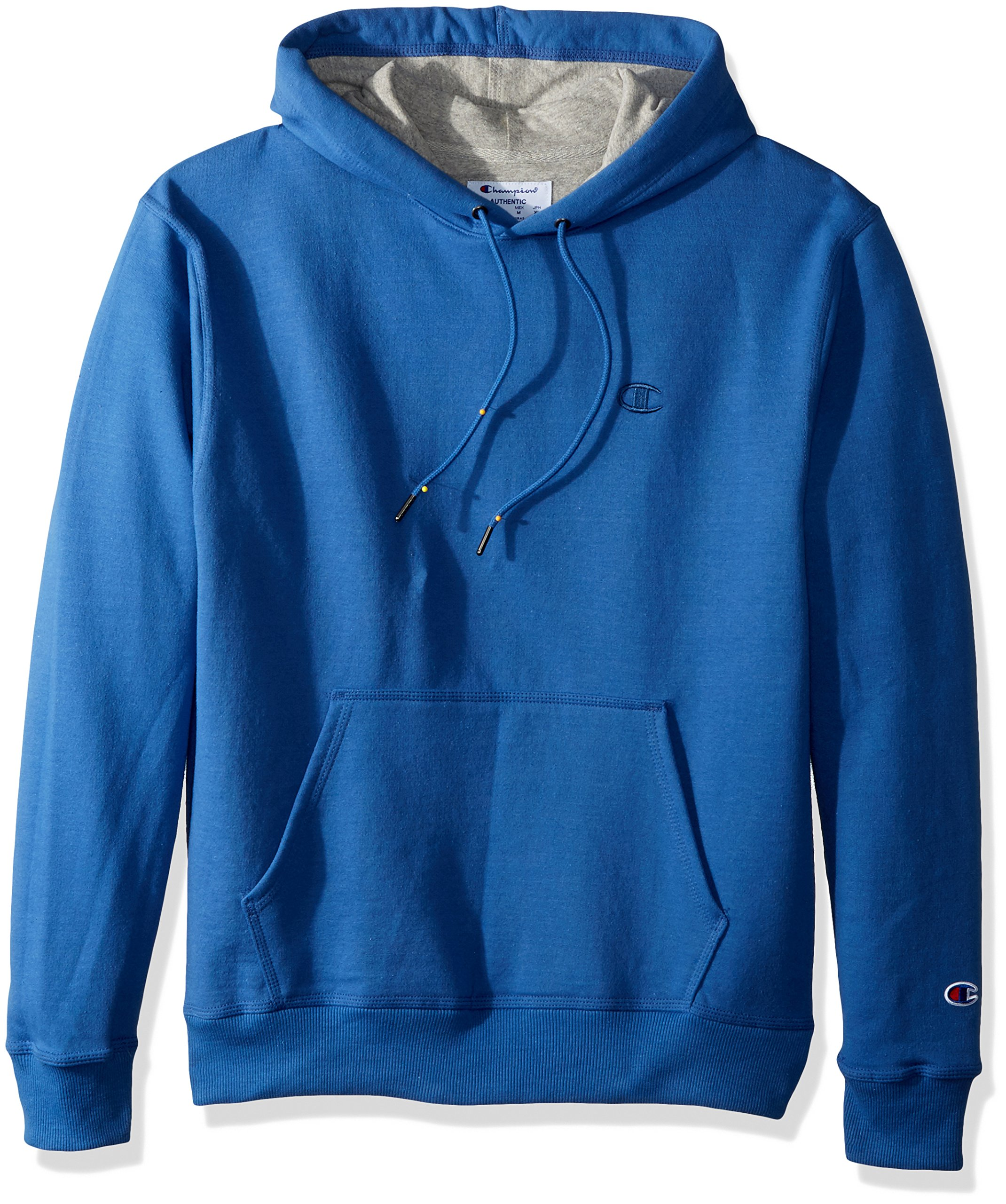 Champion Men's Powerblend Pullover Hoodie, Honorable Blue, 2X Large by Champion