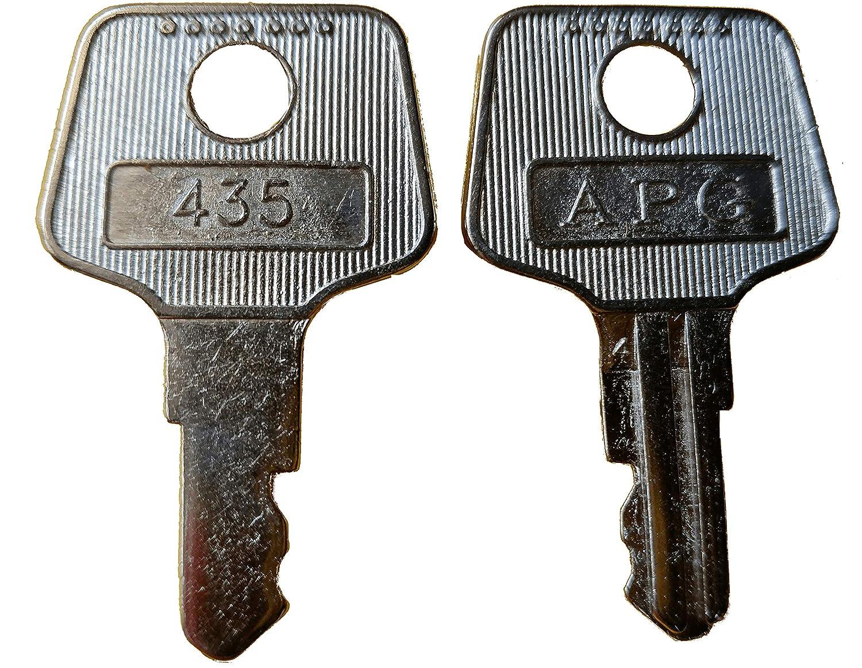 APG VPK-8K-435 Vasario 2 Key Set Type 435
