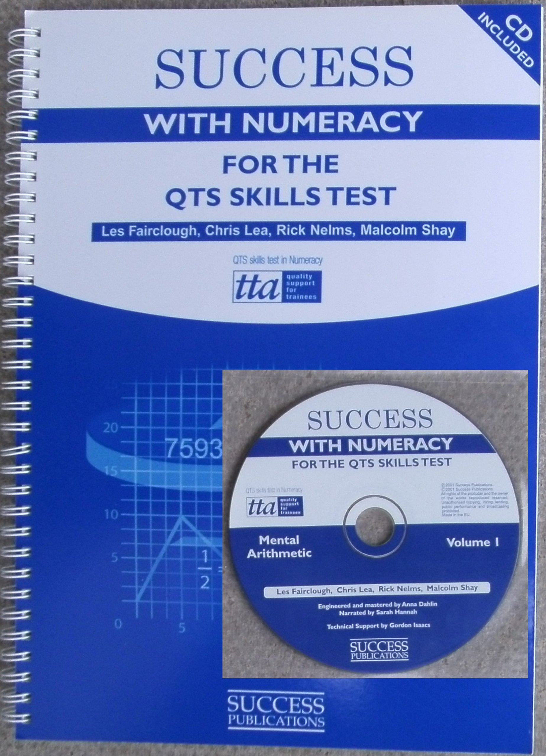Success with Numeracy for the QTS Skills Test: Amazon.co.uk: Les ...