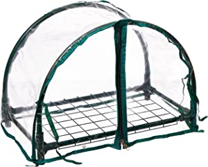 Zenport SH3270-12.5 1-Foot High Balcony Protected Patio, Mini Clear Greenhouse