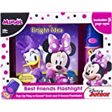 Disney Minnie Mouse - Best Friends Pop-Up Sound Board Book and Flashlight - PI Kids (Play-A-Sound)