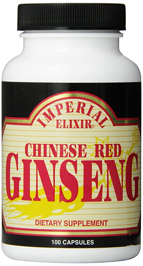 Imperial Elixir Chinese Red Ginseng, 100 Capsules by GINCO International, Inc.