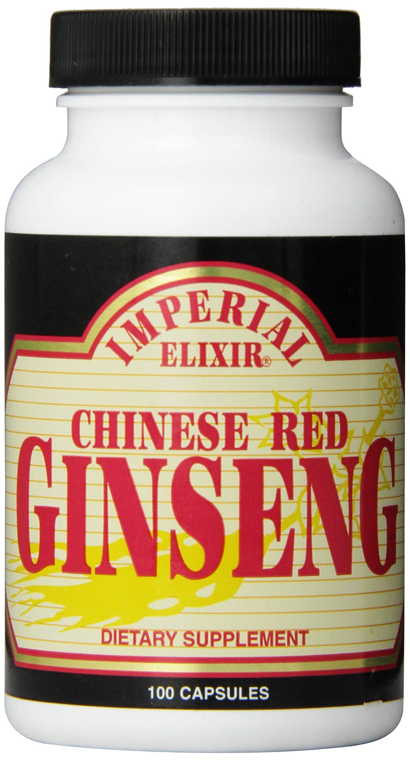 Amazon.com: Imperial Elixir, Korean Red Ginseng, 600 mg ...