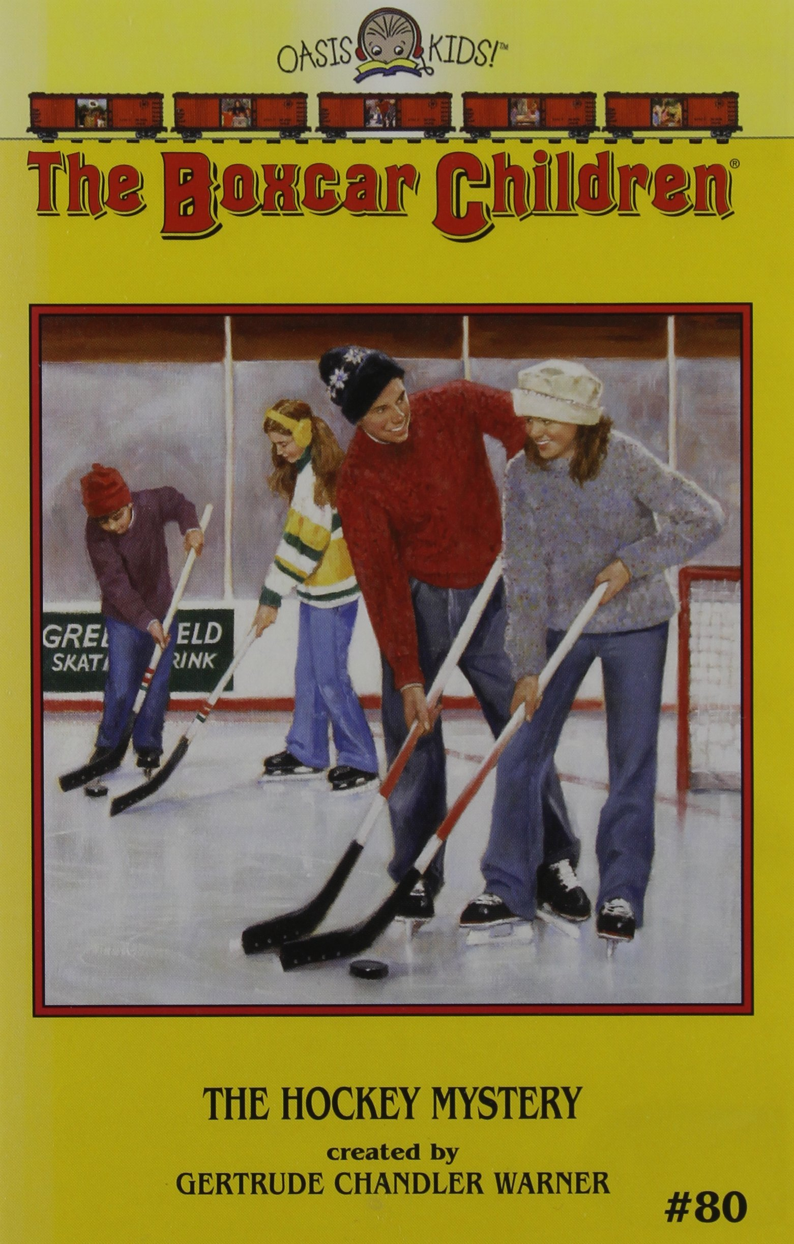 The Hockey Mystery  Boxcar Children Mysteries Band 80