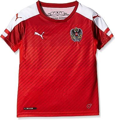 PUMA Trikot Austria Home Replica Shirt - Camiseta Bebé-Niños ...