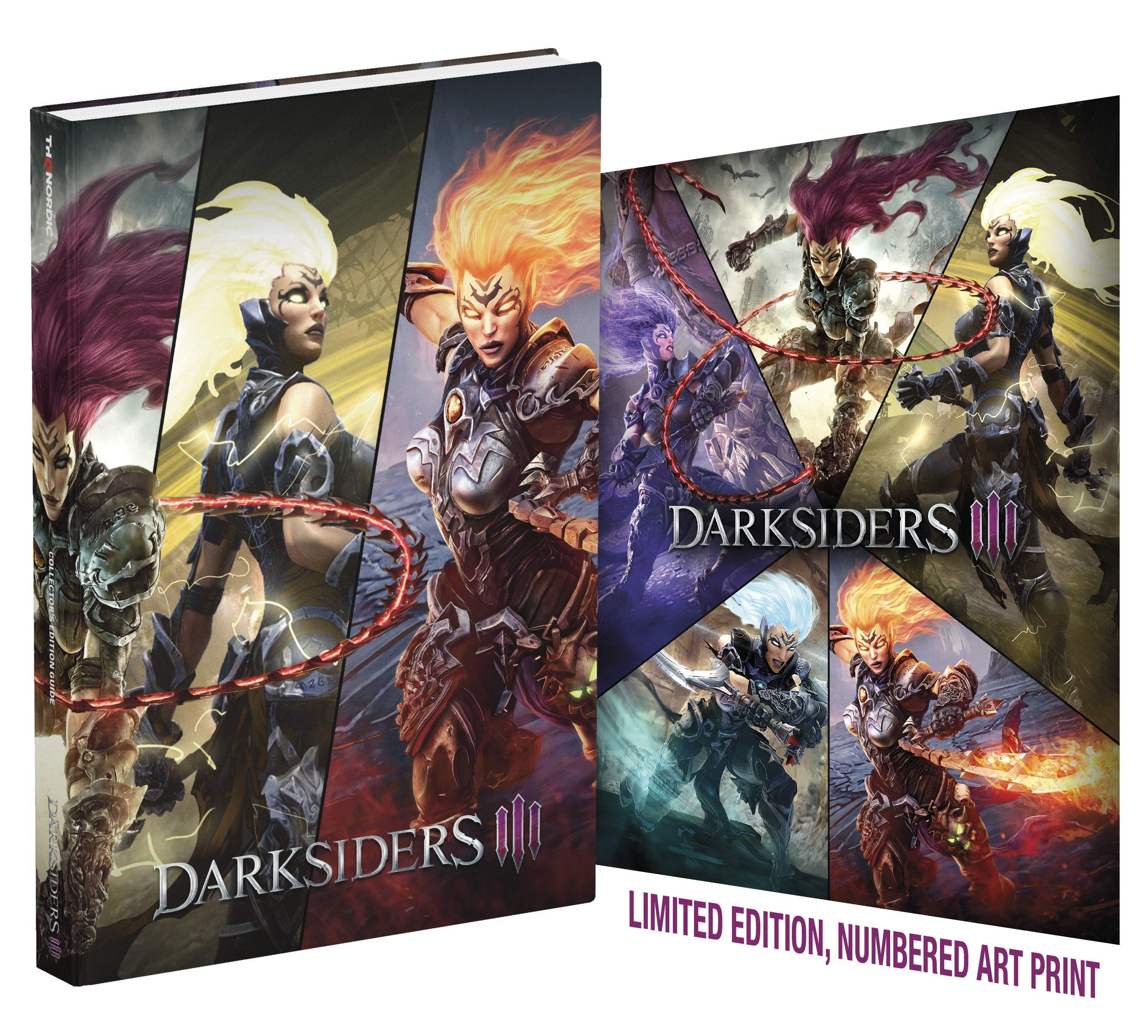 Darksiders III: Official Collector's Edition Guide: Doug Walsh, Prima Games:  9780744019919: Amazon.com: Books