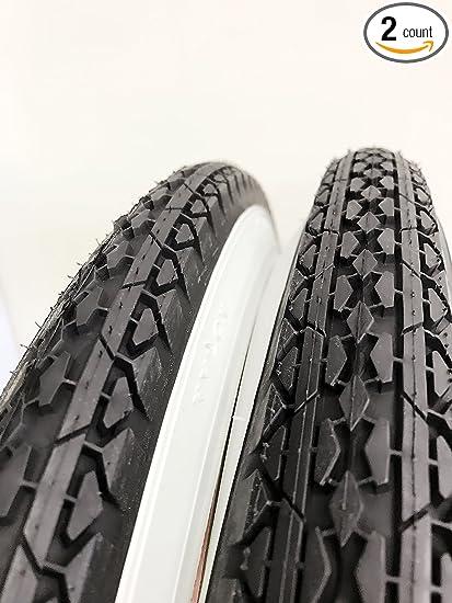 2 Duro White Wall TIRES 26x2.125 Beach Cruiser Bike Tire FREE GIFT