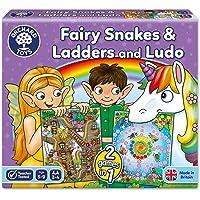 Orchard Fairy Snakes & Ladders/Ludo 5 - 9 Yaş