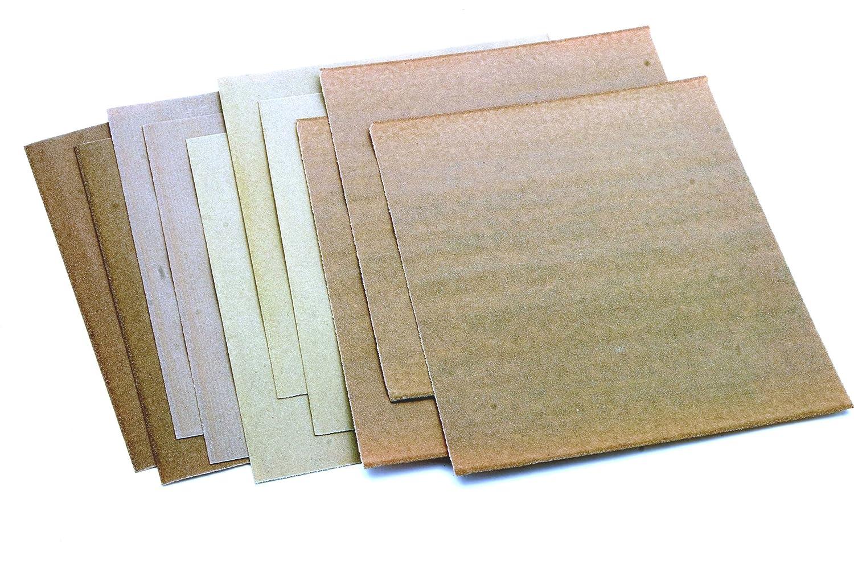Rolson Sandpaper Sheets - 10 Pieces 24509
