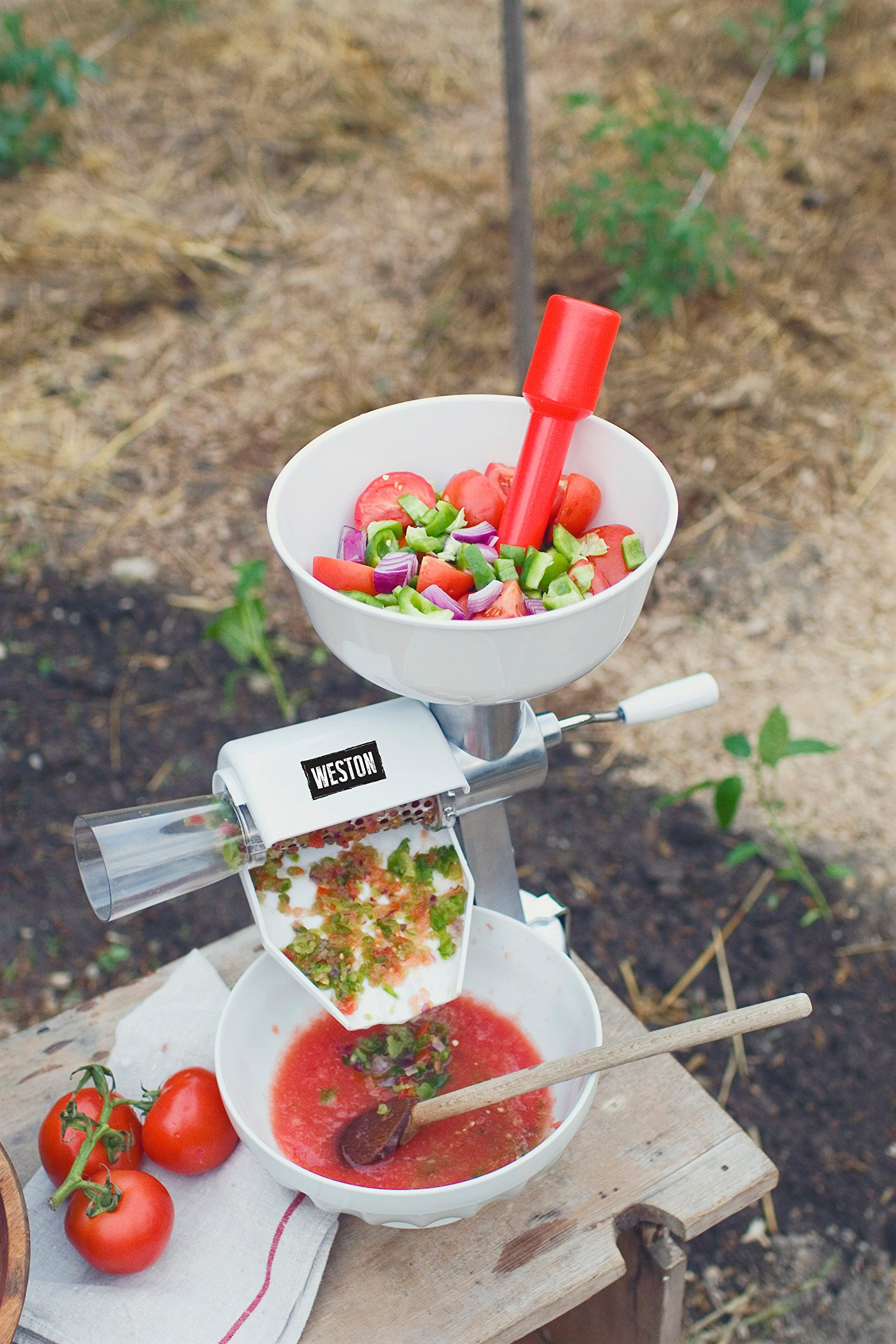Weston Food Strainer and Sauce Maker for Tomato, Fresh Fruits and Vegetables (07-0801) by Weston (Image #5)