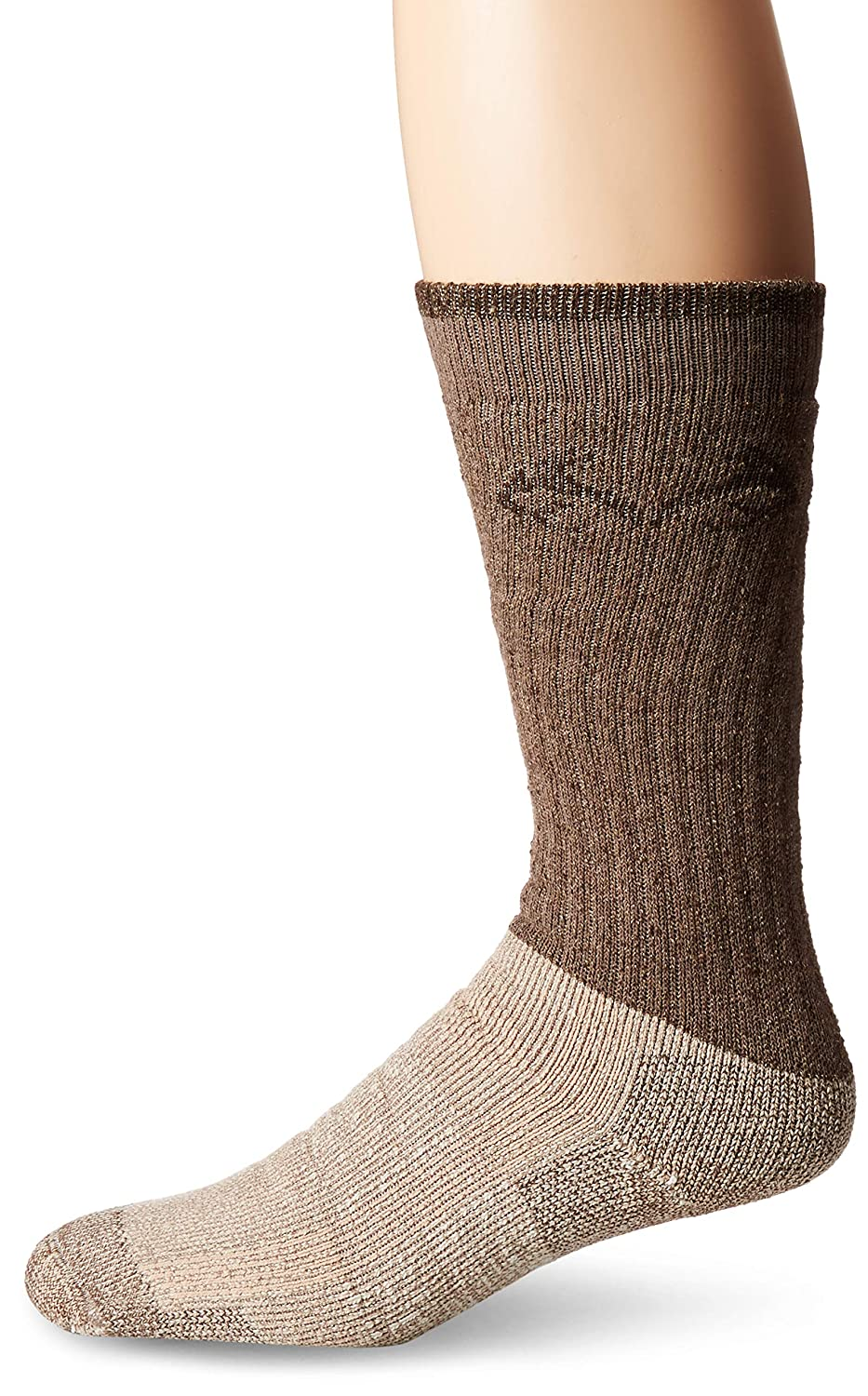 RealTree Cupron Antimicrobial Boot Socks 1 Pair Brown Large Carolina Hoisery 793-Brown-Large