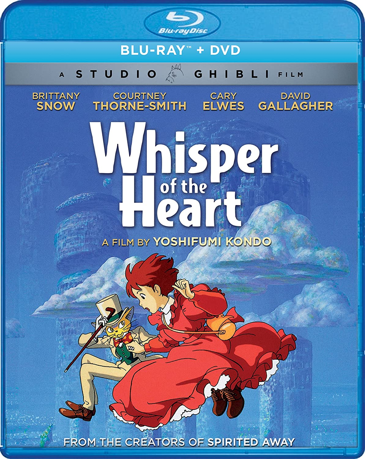 Whisper of the Heart Blu-ray/DVD (Dual Audio)