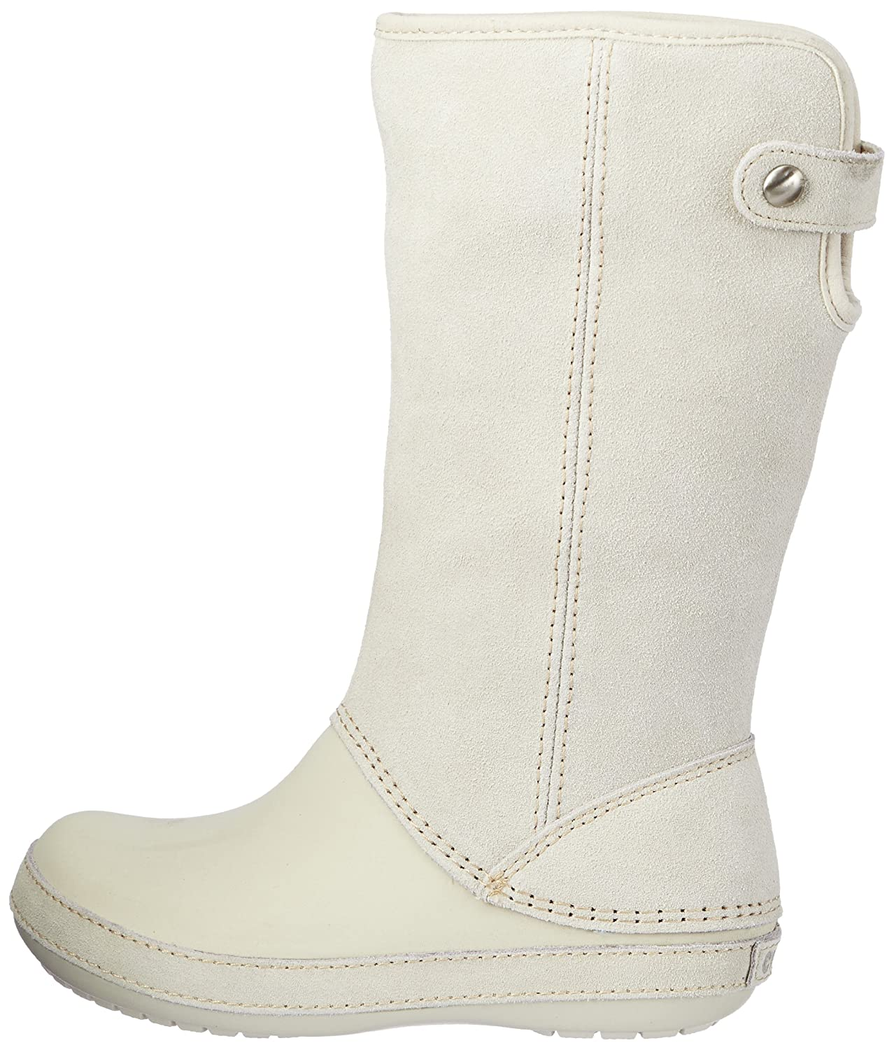 0ef3af5c70 Crocs Women s Berryessa Knee High Boots Stucco Stucco 9 UK  Buy Online at  Low Prices in India - Amazon.in