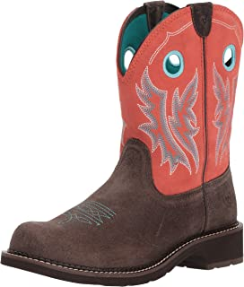 69802a3717d Amazon.com: ARIAT Women's Fatbaby Western Boot: Shoes