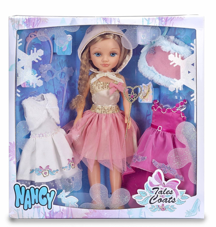 Amazon.es: Nancy - Kit de tres vestidos de cuento con muñeca (Famosa ...