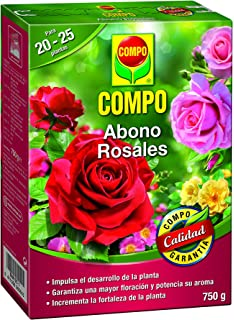 Compo 2655102011 Abono Rosales 750 G 20x14.2x4.7 cm