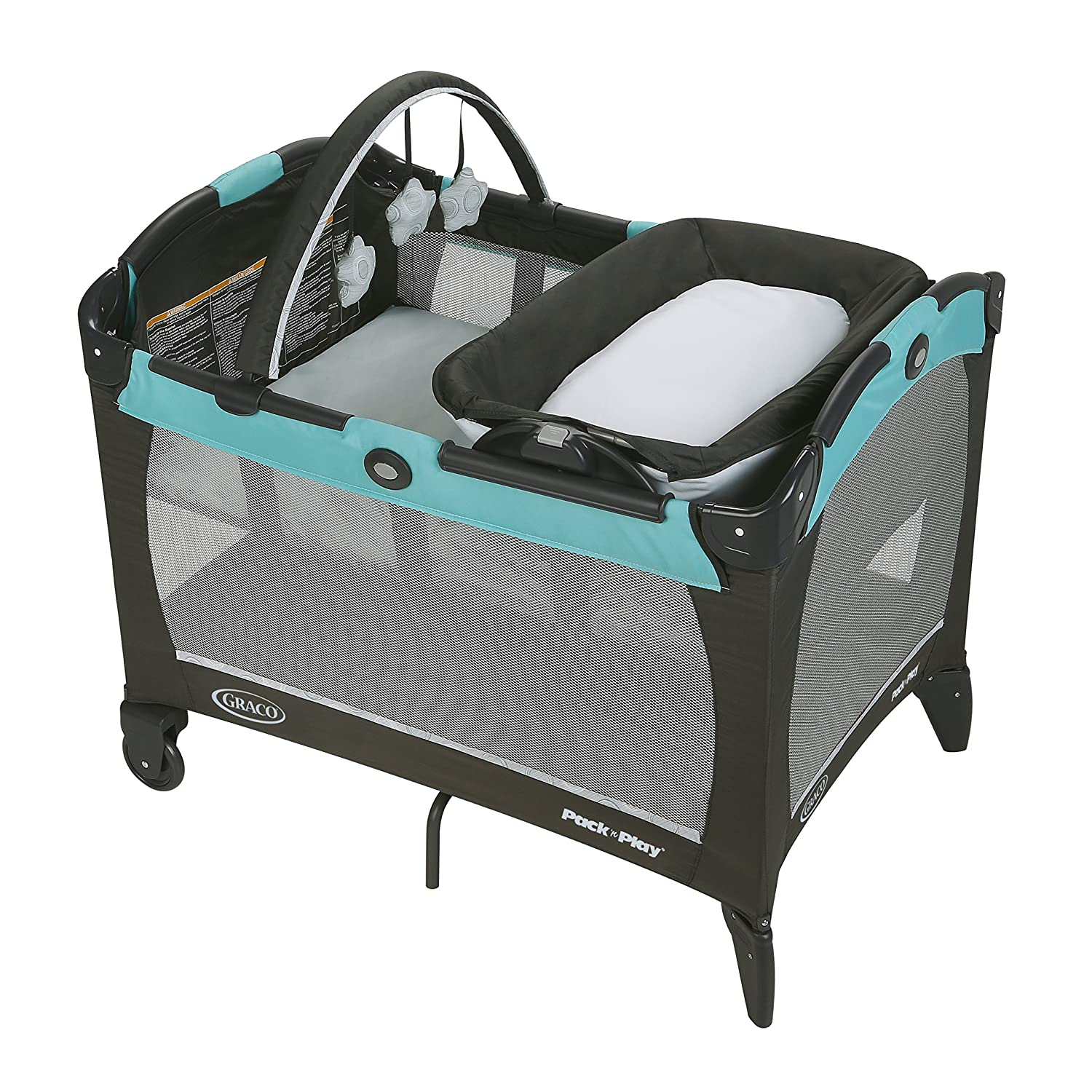 Graco Pack 'n Play with Reversible Lounger & Changer, Tenley 2013678