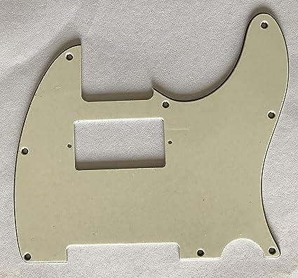 *NEW LEFTY Mint Green Stratocaster PICKGUARD for Fender Strat 3Ply 8Hole Vintage