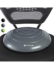Gaiam Balance Disc Wobble Cushion Stability Core Trainer for Home or Office Desk Chair & Kids Alternative Classroom Sensory Wiggle Seat