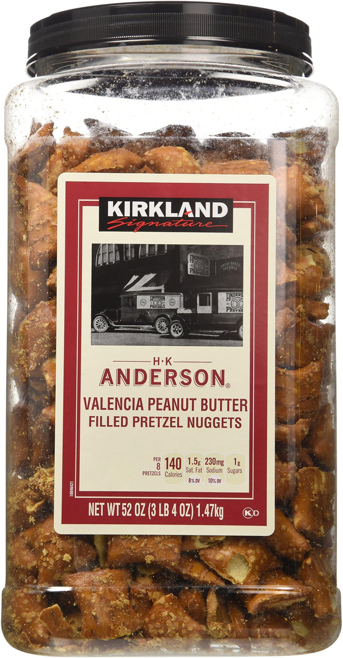 Kirkland Hk Anderson Peanut Butter Filled Pretzels 3 Lb (Pack of 2) by Kirkland Signature (Image #1)