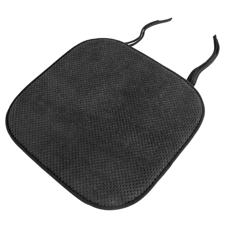 Lavish Home Chair Pad - Charcoal