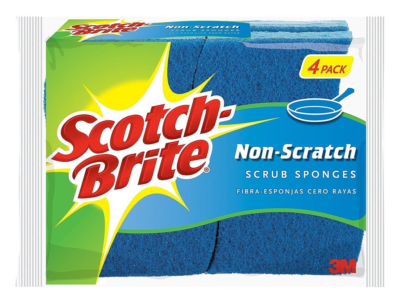 Scotch-Brite Non-Scratch Scrub Sponge, 6-Sponges 526