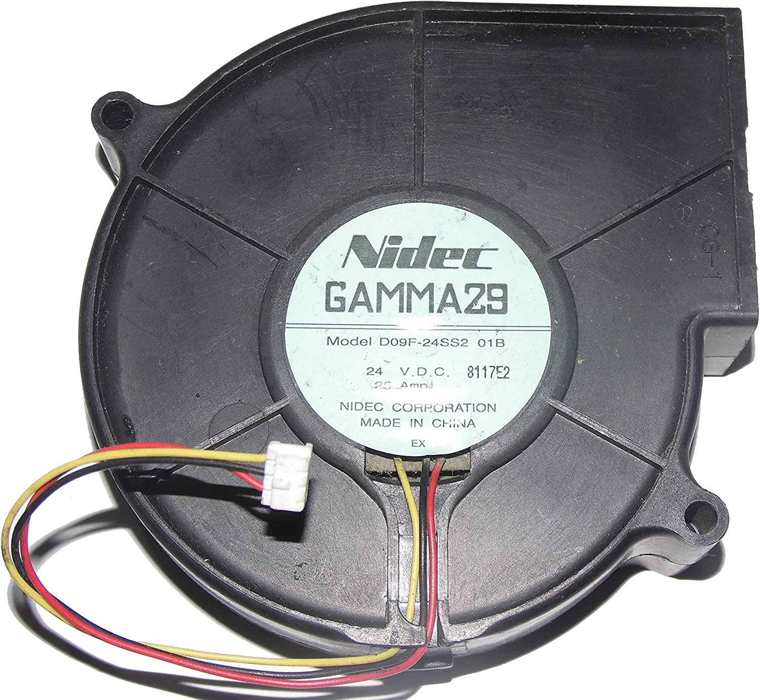 NIDEC 9733 D09F-24SS2 24V 0.25A 3Wire Cooling Fan