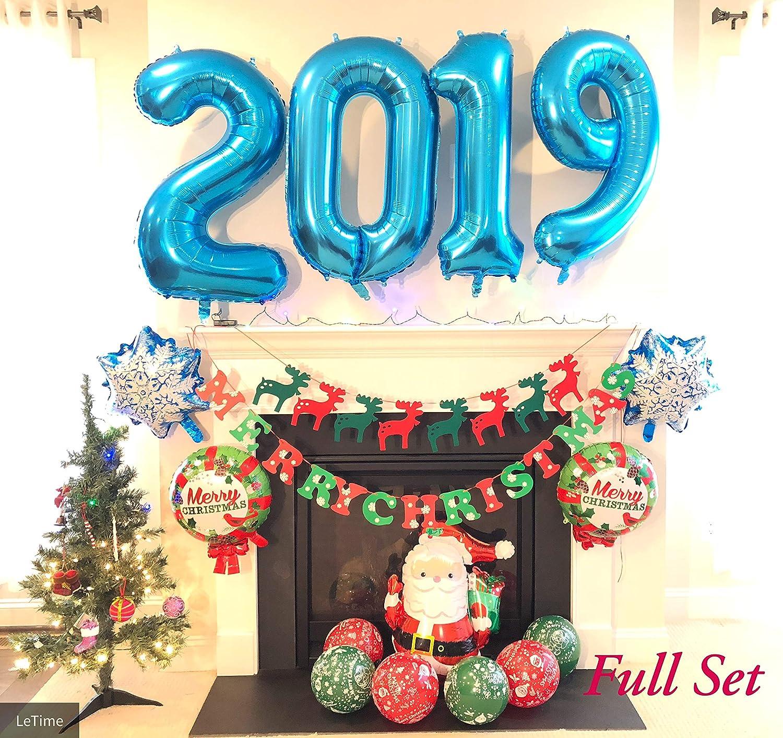 Amazon Christmas Decoration Balloons 2019 Mylar Balloons Xmas