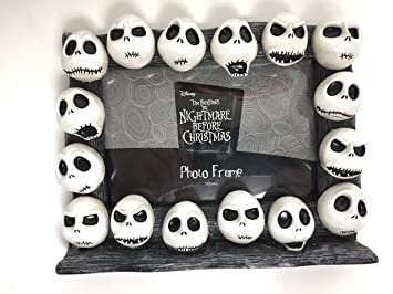Amazoncom Jack Skellington Faces Photo Frame Nightmare Before