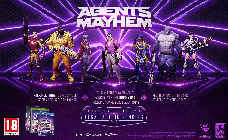 Agents of Mayhem: Day One Edition - Xbox One [Importación inglesa]: Amazon.es: Videojuegos