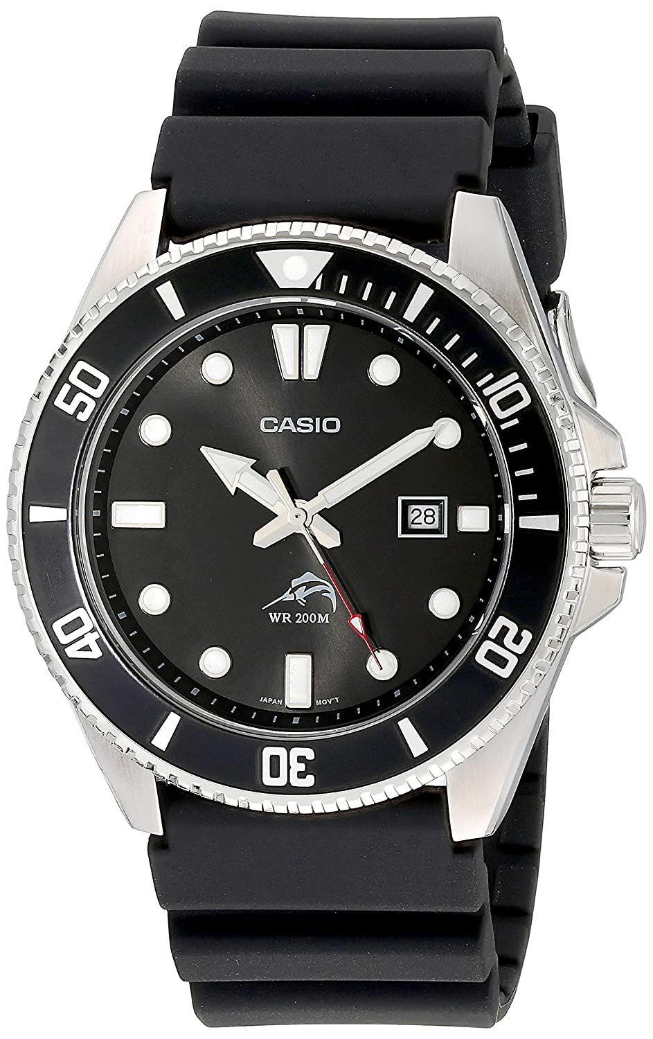 1f771cf02d3 Amazon.com  Casio Men s MDV106-1AV 200M Duro Analog Watch