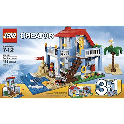 LEGO Creator 7346 Seaside House: Toys & Games