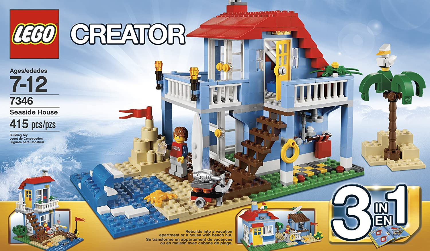 LEGO Creator 7346 Seaside House