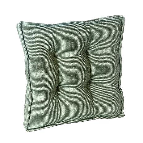 Klear Vu 91929 03 Saturn Square Gripper Pad Chair Cushion, Celadon, 17u0026quot;