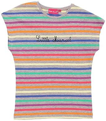 92d92ea051835 Little Marcel Shirt - Mixte Enfant - Multicolore (243 Gris Mouchete) - 18
