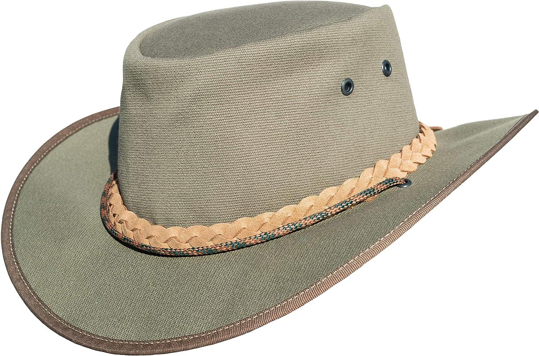Cowboy Hut Safari//Outdoor//S/üdafrika//Outback handgefertigt Tracker Leinwand Hut Herren Outdoor Hut//Australischer Hut//wasserdicht//Safari Hut