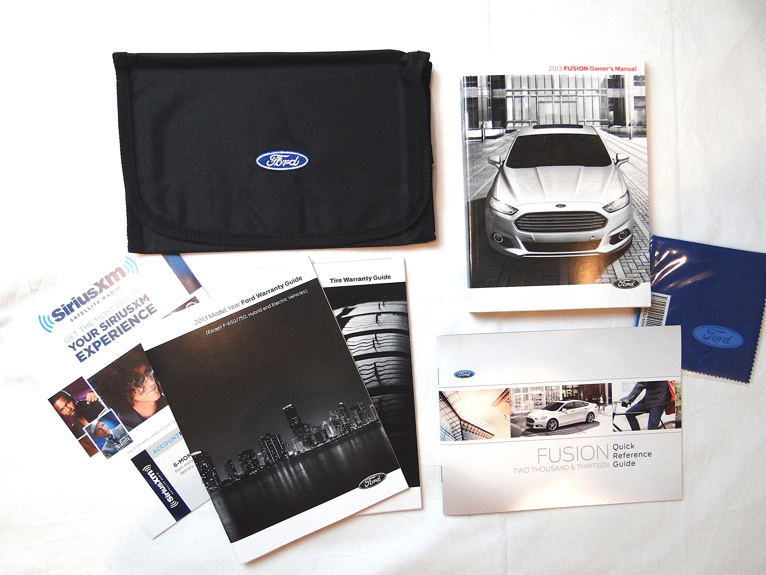 2013 Ford Fusion Owners Manual Set With Case Ford 0708676917799