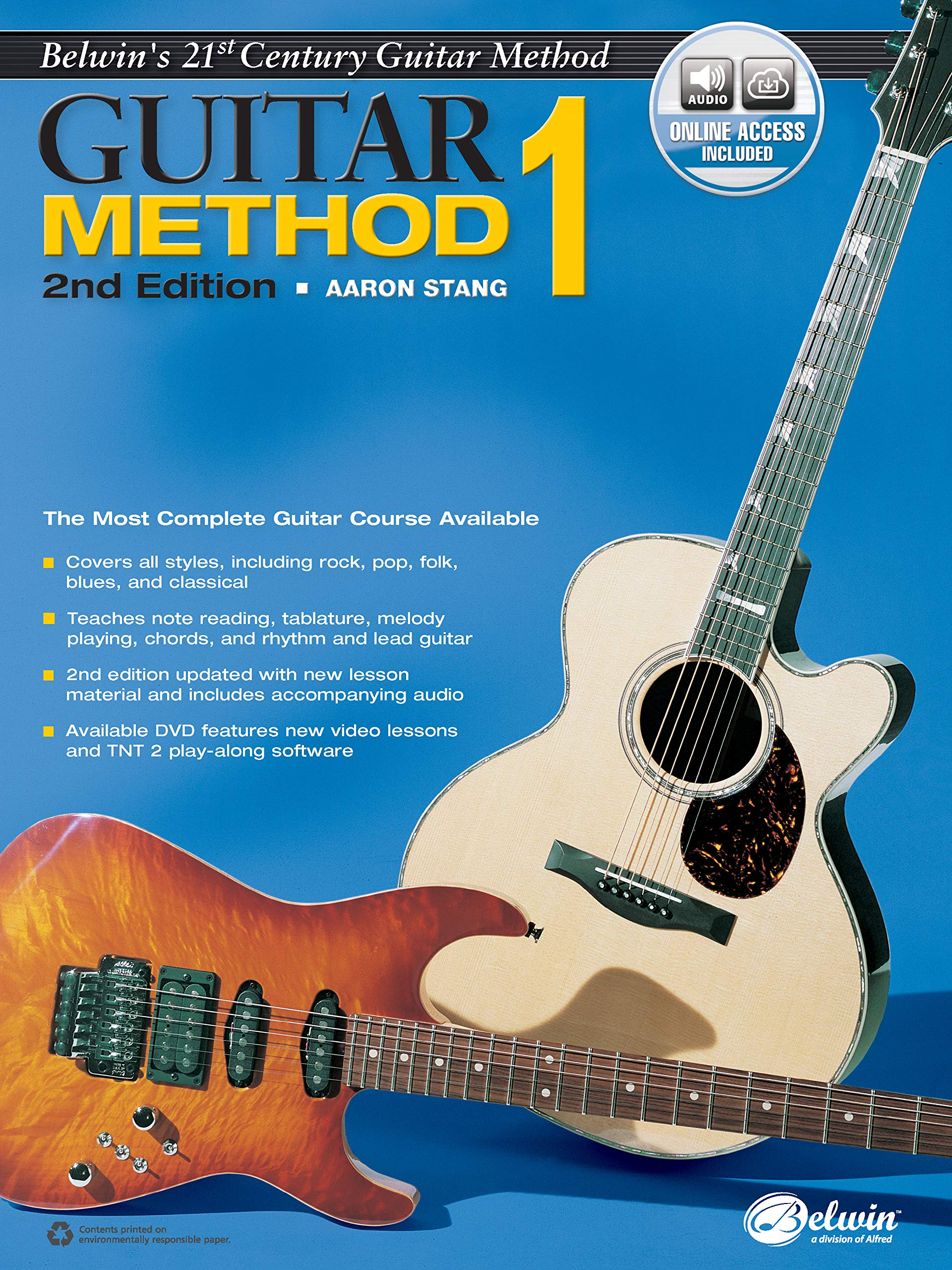 Belwins 21st Century Guitar Method, Bk 1: The Most Complete ...