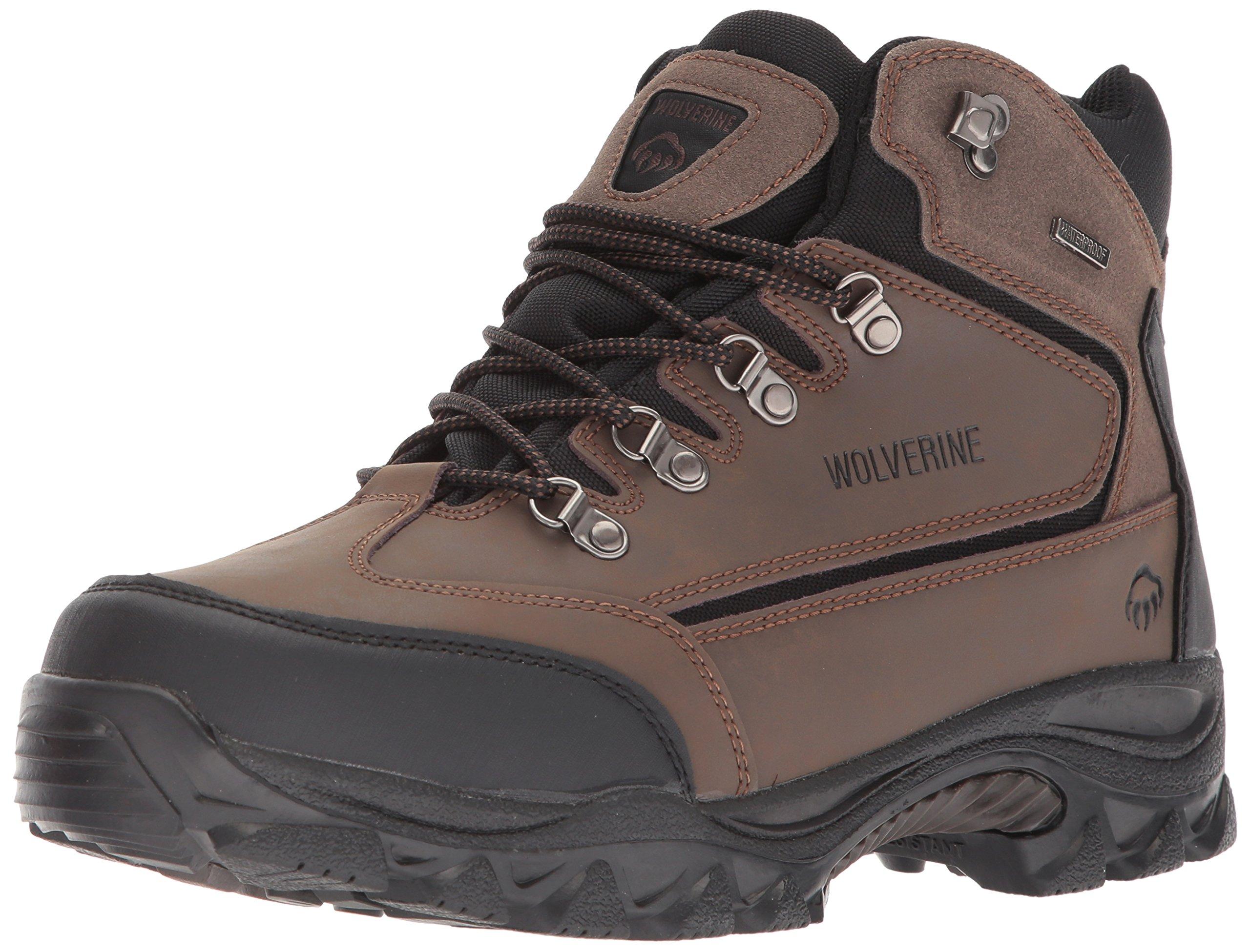 Wolverine Men's W05103 Spencer Boot, Brown/Black,9.5 M