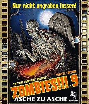 Pegasus Spiele 54180G - Zombies!!! 9: Asche zu Asche, Juego de ...