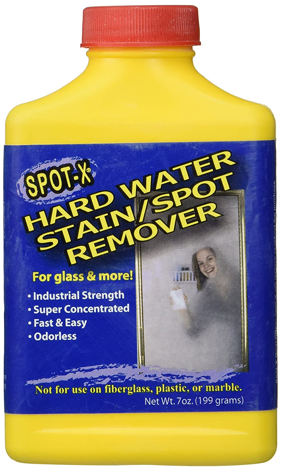 Amazon.com: Spot-X Hard Water Stain/Spot Remover - 7 Ounces ...