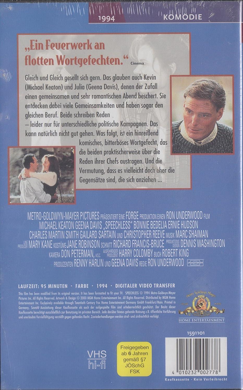 Sprachlos [Alemania] [VHS]: Amazon.es: Michael Keaton ...